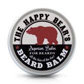 The Happy Bear's Beard Balm. Conditions, freshens, fragrances. Say goodbye to beard dandruff - and hello to fresh, soft facial hair!