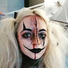 Halloween Make Up, Halloween Face Makeup, Up Styles, How To Make, Hair, Hairdresser, Face, Strengthen Hair, Halloween Makeup