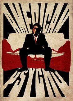 American Psycho POSTER by StuntmanKamil on DeviantArt