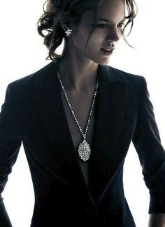 Freja Beha Erichsen   Harry Winston Jewelry 2012