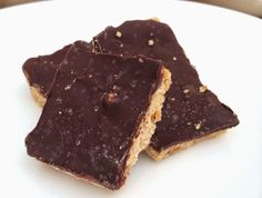 Mock Reese's Peanut Butter Cup Bars        1 cup fresh ground peanut butter  sweetener to taste  1/2 cup almond flour  1 tsp vanilla  pink ...