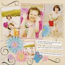 scrapbook layouts for 5 photos - Google Search