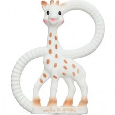 Sophie La Giraffe teething ring - the non squeaky one!