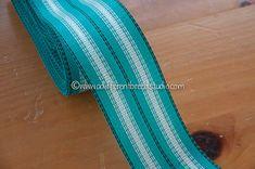 Aqua lawn chair webbing | Etsy