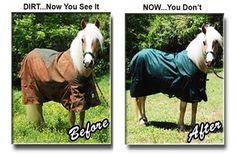 Horse Blanket Wash Repair And Waterproofing