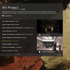 Google Art Project: Makes Art More Accessible