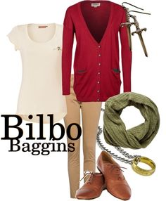 """""""Bilbo Baggins"""" by stormifish on Polyvore"""