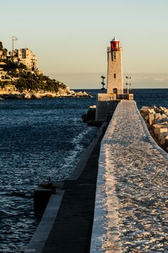 Path to lighthouse by hakim belahouane, via 500px