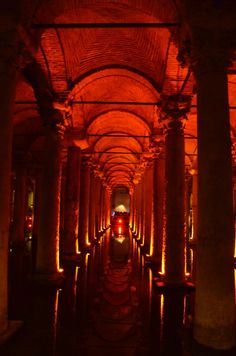 Istanbul: The Basilica Cistern || We Took the Road Less Traveled #travel #turkey #istanbul