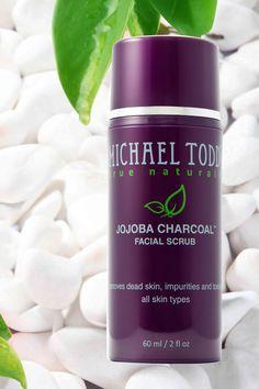 Michael Todd True Organic Jojoba Charcoal Facial Scrub