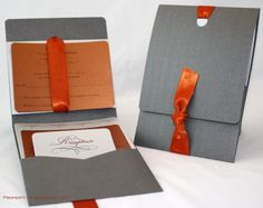 Elegant and Unique Wedding Invitations by SDezigns on Etsy, $7.50