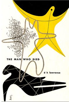 Vintage Book Cover, The Man Who Died - D.H. Lawrence