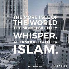 Alhamdulillah for Islam ☝❤ Islam Religion, Islam Muslim, Allah Islam, Islam Quran, Allah God, Islamic Qoutes, Muslim Quotes, Islamic Inspirational Quotes, Religious Quotes