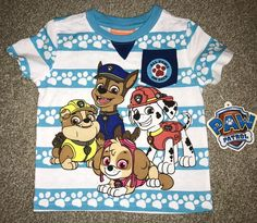 Nickelodeon Paw Patrol T-Shirt 2T New With Tag Puppy Puppies Nick Jr  | eBay