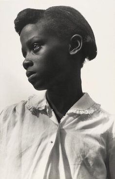 Consuelo Kanaga Young Girl with White Blouse, Tennessee 1948