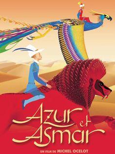Azur et Asmar est un film de Michel Ocelot avec Cyril Mourali, Karim M'Riba. Synopsis : Il y a bien longtemps, deux enfants étaient bercés par la même femme. Azur, blond aux yeux bleus, fils du châtelain, et Asmar, brun aux yeux noirs, fi