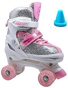 Best Roller Skates, Outdoor Roller Skates, Roller Skate Shoes, Quad Skates, Roller Derby, Roller Skating, Indoor Playground, Pink White, Toddler Girl
