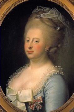 "Caroline Mathilde of Great Britain, Queen of Denmark. Sister of King George III. She had an affair with the royal surgeon and was divorced and exiled to Germany. She never saw her children again and died age 23. ""A Royal Affair"" was a movie made about her ordeal."
