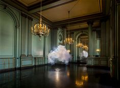 Nimbus Green Room (2013) / by Berndnaut Smilde