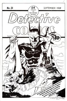 Andy Fish covers Detective Comics #31