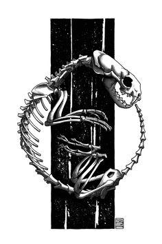 "Limited edition (10) token of Skeenee´s ""Pug Skeleton"" available on  www.makersplace.com. #cryptoArt #skeenee #cryptoartist #skull #skullart Sumi Ink, Anatomy Drawing, Ink Painting, Skull Art, Blockchain, Pug, Skeleton, Digital Art"