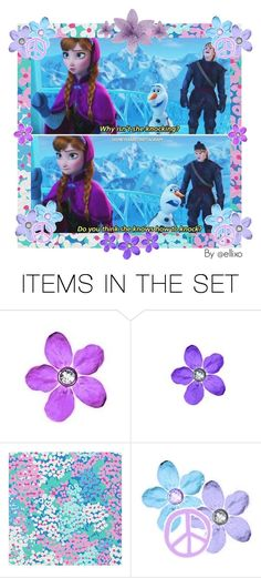 """Frozen"" by ellixo ❤ liked on Polyvore featuring art, disney, frozen, lovethismovie and olaf"