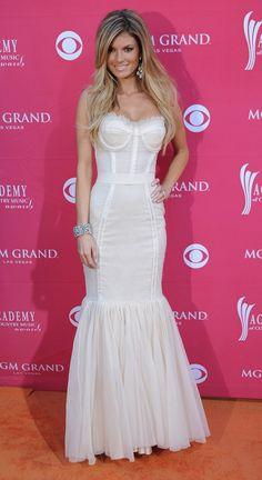 white dress marisa miller