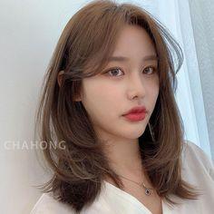 Haircuts Straight Hair, Haircuts For Medium Hair, Medium Hair Cuts, Long Hair Cuts, Hairstyles Haircuts, Medium Hair Styles, Curly Hair Styles, Korean Haircut Medium, Korean Hairstyles