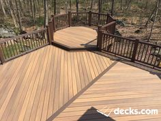 Deck Picture in Timbertech Legacy - Picture 1702 Deck Stairs, Deck Railings, Creative Deck Ideas, Deck Design, House Design, Gazebo On Deck, Patio Plans, Deck Pictures, Deck Builders