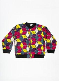 #Kwadusa. Anissa jacket limited edition harlequin
