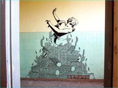 15 Inspiring Examples of Tape Art That You Must See