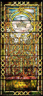 ELIZA M. MORGAN WINDOW, c. 1908  Tiffany Glass and Decorating Company