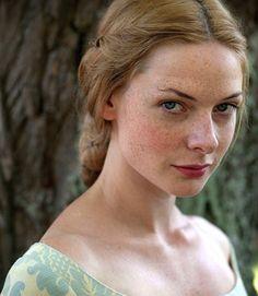 Rebecca Ferguson as Elizabeth Woodville in The White Queen
