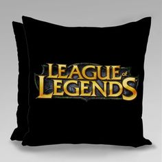 League Of Legends, Lol, Throw Pillows, Personalized Pillows, Pillow Covers, Father's Day, Mugs, Gift, Bedroom