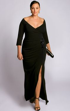 evening gowns for mature womens | Full on Glamour - The Garbo Gown