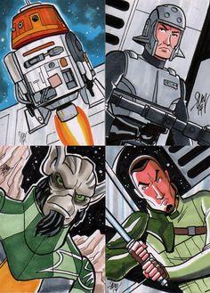 Star Wars Rebels Sketch Cards by calslayton on deviantART.