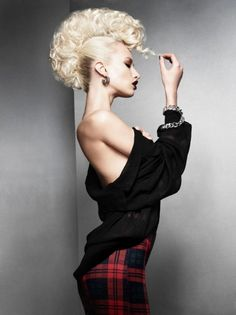 Tartan Youth by Schwarzkopf YAT 2013 Make-Up: Maddie Austin Clothes: Clare Frith Photography: Jack Eames Artistic Direction: Suzie McGill of The Rainbow Rooms, Glasgow