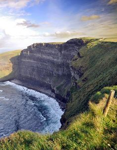 """Cliffs of Moher, Ireland = The Cliffs of Insanity from """"The Princess Bride."""" Definitely a Must See!"""