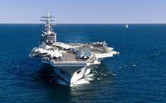 CVN 76 | USS Ronald Reagan (CVN-76) Wallpaper 1 Ship Gallery | OceanShooter
