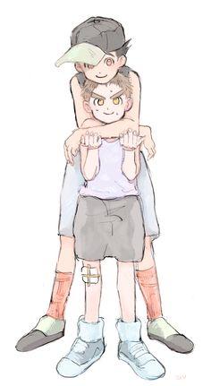 Gon Freecs and zushi Hunter x Hunter cute