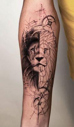 Sleeve and Hand Tattoos . Sleeve and Hand Tattoos . Pin by Samra Says On Tattoo Ideas 3 Hand Tattoos, Lion Hand Tattoo, Lion Tattoo Sleeves, Bull Tattoos, Leo Tattoos, Forearm Tattoos, Body Art Tattoos, Sleeve Tattoos, Tattoo Thigh