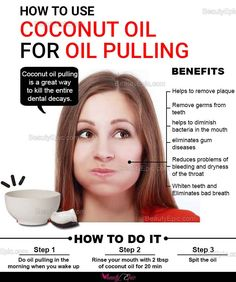 How To Use Coconut Oil For Oil Pulling