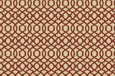 Iman Home Fabrics--Sultana Lattice in Amaryllis (will depend on color of chairs or perhaps use as welting/button covers)