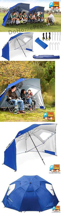 canopies and shelters sun shade tent beach cabana sports umbrella personal sideline portable shelter u003e buy it now only on ebay