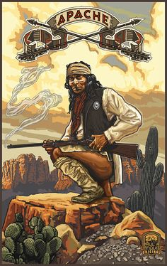 Apache Warrior by Paul A Lanquist