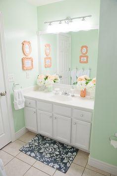 Bathroom color  -- Martha Stewart