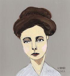 Paint Chip Portraits - Jordan Grace Owens