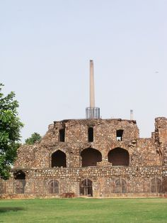 Feroz Shah Kotla Fort Delhi - know about Feroz Shah Kotla Fort opening and closing timings, Address, entry fee, opening days, ticket and much more. Incredible India, Amazing, Indian Architecture, Historical Monuments, Places Of Interest, Forts, Indian Art, Exterior Design, Old Things