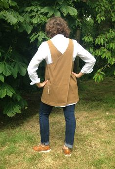 Unisex Tan Waterproof Cotton Crossover by didyoumakeityourself