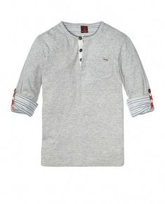 1f4bd205 Bonded Granddad Tee With Sleeve Holders > Kids Clothing > Boys > T-shirts at  Scotch Shrunk